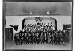 [ANB Convention at Yakutat, ca. Nov. 1931. Group portrait on stage at ANB Hall.]