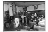 [Interior view of school room.]