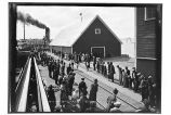 Fourth of July [foot race], 1925, on cannery dock.