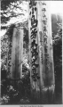 Oriental grave markers, Lawson Creek Douglas Is. 1930.