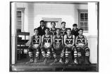 [First ANB basketball team in Yakutat.]