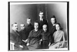 [Portrait of family group.]