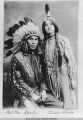 Mr. & Mrs. Shotridge, Chilkat, Alaska.