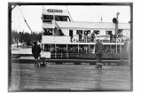 [View of] S.S. Otsego (at) Yakutat, Alaska, April 13, 1927.