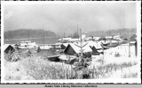 View from Hoonah School. Winter 1941-42.