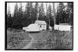 W.H. Dugdell's blue fox farm [on] Knight Island, [near] Yakutat.