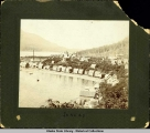 Juneau, Indian Village and Little White School, 1898.