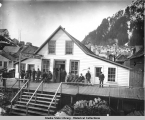 The Franklin Hotel, Juneau's first hotel.