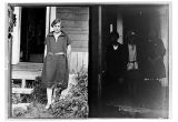 [(Left side) Mary James. & (Right side) Two unidentified woman on each side of an unidentified...
