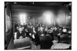 [Interior view of Yakutat Schoolhouse, ca. 1925 or 1926.]