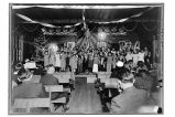 [Christmas program at the Salvation Army Hall.]