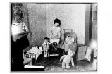 [Jack Ellis' daughter with dolls.]