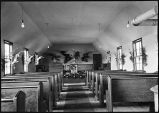 [Interior of empty church.]