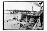 Part of wharf broken down by SS Admiral Watson Yakutat April 14, ′17.