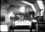 [Funeral in the Church.]