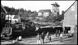 Salmon train arriving in Yakutat from Situk.