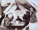First meal at a table, Camp Storey.