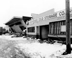 1964 earthquake damage, Anchorage.
