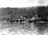 [Latouche Island, Prince William Sound, with several buildings.]