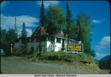 Fire Lake Lodge, Cocktails, Dinners, Cabins, ca. 1950.