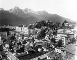 [Aerial view of Juneau.]
