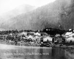 Indian Village. Sitka. Alaska. No. 26.