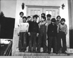 Group portrait of boys in Hoonah, 1939?