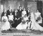 "Wedding of John Brynteson, one of Nome's ""Three Lucky Swedes,"" San Francisco, 1902."