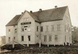 Jesse Lee Mission, Methodist, Unalaska, Alaska, removed to Seward later. Photo 1917.