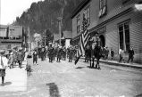 July 4th Parade.  Juneau, Alaska. 1924.
