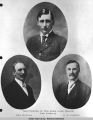 Discoverers of the Nome Gold Fields in 1898: John Brynteson, Jafet Lindeberg, and E.O. Lindblom.