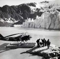 Bellanca NC-196-H at Taku Glacier 1139. [1931?]