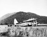 PAA Sikorsky at Juneau 1938. First Seattle Alaska flights.