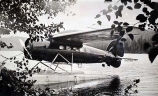 "Lockheed – Vega NC 336-H; ""Perersburg"" at Lake Hasselberg in July 1931."