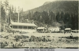 Ball Game at Ketchikan, Alaska.