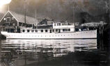 "Yacht"" Infanta"" owned by John Barrymore in Juneau 1931 and Whitehorse."