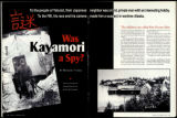Was Kayamori a Spy?