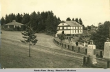 Sheldon Jackson Museum and campus of Sheldon Jackson School, Sitka.