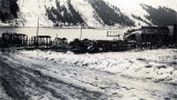 [Douglas, Alaska. After the 1936 fire. Front St. where Mike's, Feusis, the Cash grocer, Jap....