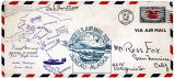 "[""First-Day Cover"" commemorating first flight from Seattle, Washington to Juneau, Alaska...."