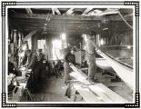 Boys at work in boat shop – Sheldon Jackson School – Sitka.