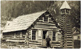 Log Cabin Pres. Church Juneau Alaska.
