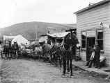U.S. Mail [Arriving] in Flat, Alaska, 1914.