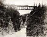 Kuskulana Bridge (Copper River & Northwestern Railway)