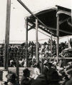 [Spectators in tiered seating. Anchorage, Alaska 1918.]