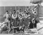 Eskimo actors, ca. 1933.