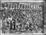 P. E. Kern's Collection of Indian Baskets; Skaguay, Alaska.