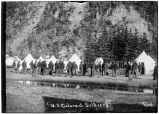 "U. S. Colored Soldiers, by ""Ford"" (Skagway)."