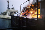 Juneau Cold Storage fire, cutter Storis.
