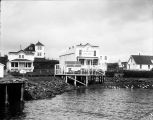 [Sand Point, Alaska post office; A. H. Mellick building; view from water.]